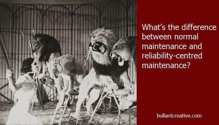 Normal Maintenance vs Reliability-Centered Maintenance - Header Image